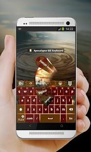 Apocalypse GO Keyboard - screenshot thumbnail