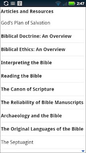 ESV Study Bible- screenshot thumbnail