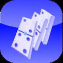 Falling Domino logo