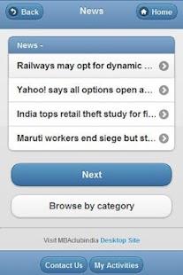 MBAclubindia - screenshot thumbnail