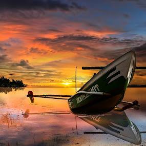 cape Karimun Jawa by Totok Anwarsito - Transportation Boats