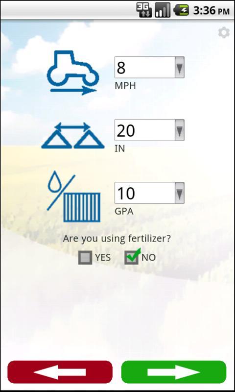 TeeJet SpraySelect- screenshot