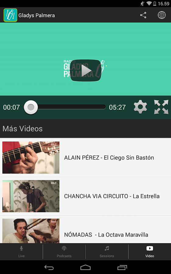 Radio Gladys Palmera- screenshot