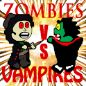 Zombies vs Vampires logo