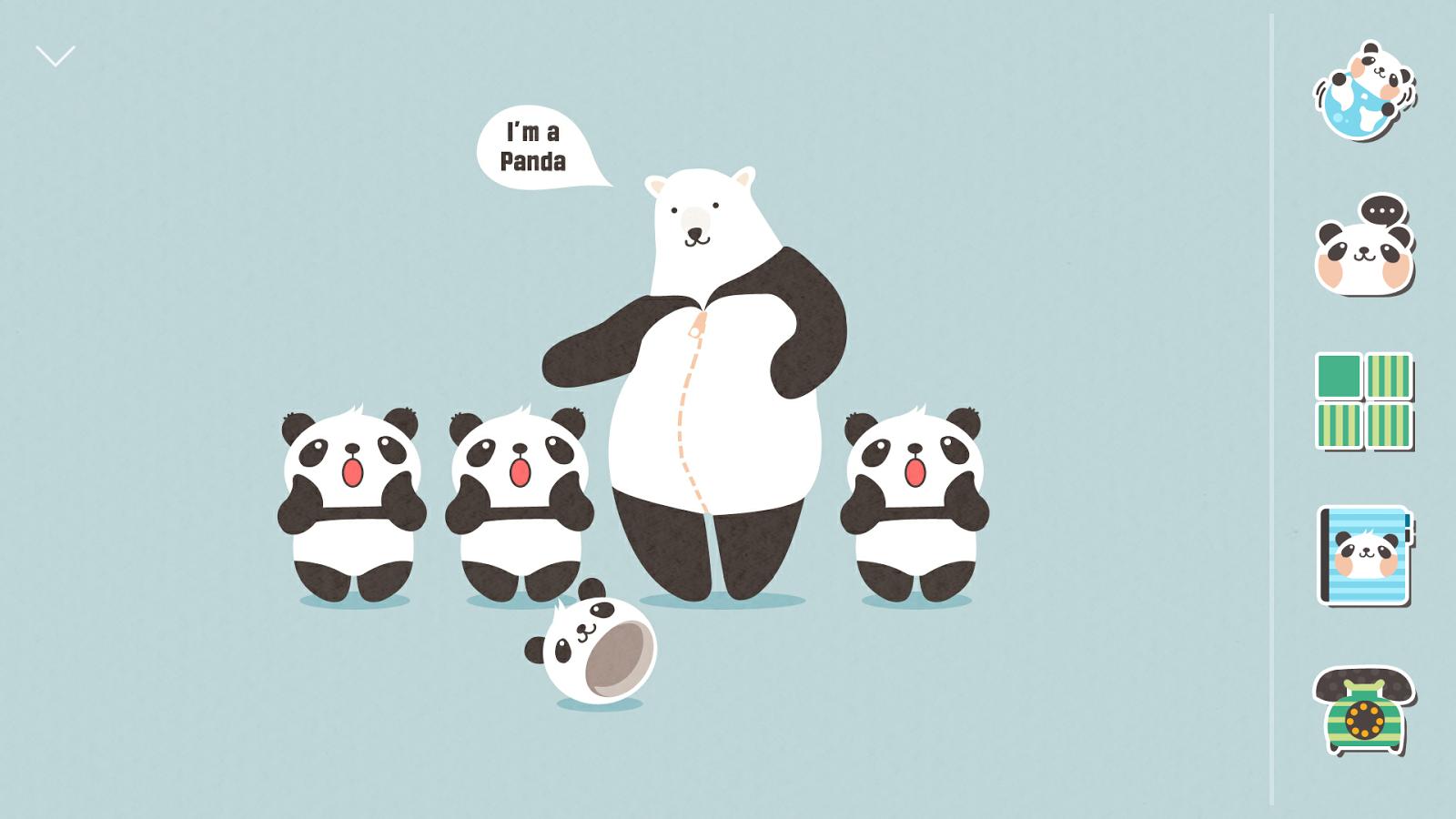 Gmail panda theme - Liar Bear Atom Theme Screenshot