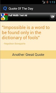 Quote of The Day App- screenshot thumbnail