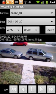 IP Cam Viewer Lite Screenshot