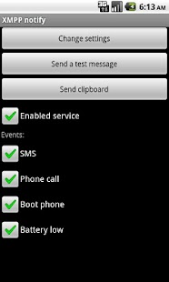 XMPP notify full - screenshot thumbnail