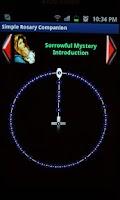 Screenshot of Simple Rosary Companion