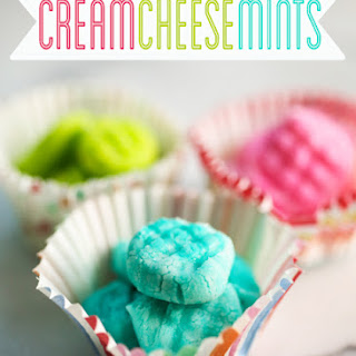 Easy Cream Cheese Mints