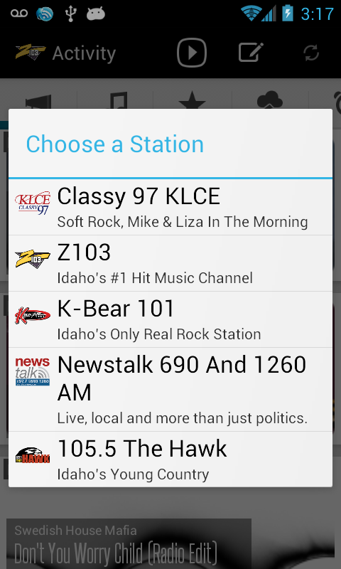 Radio To Go - screenshot