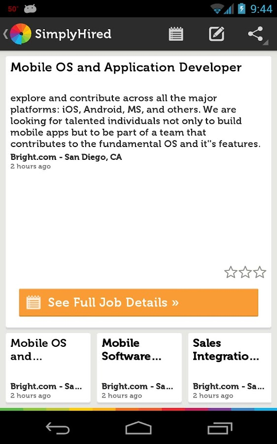 Jobrio Job Search- screenshot