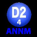 D2のオールナイトニッポンモバイル2013 第4回 logo