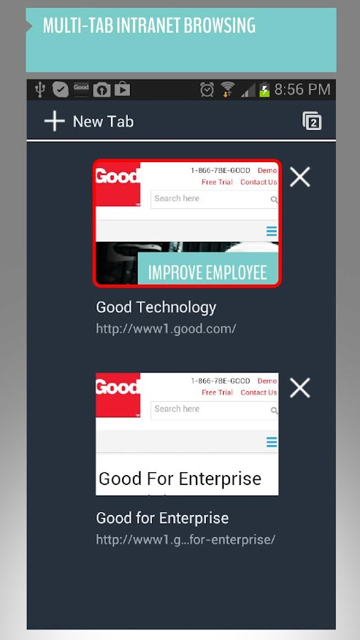 Good for Enterprise™ - screenshot