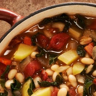Portuguese Kale & White Bean Soup.