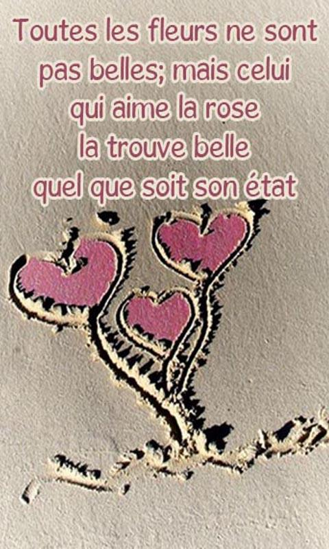 Berühmt Belles phrases d'amour - Android Apps on Google Play CW32