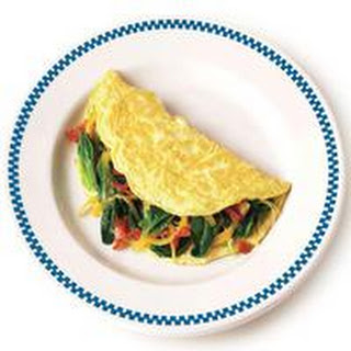 Classic Cheese Omelet.