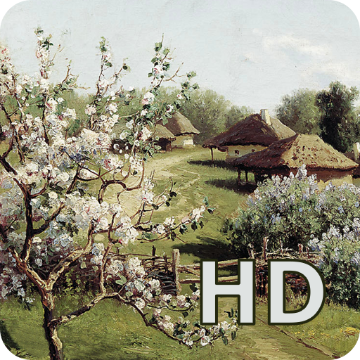 Landscape painting HD 生活 App LOGO-APP開箱王