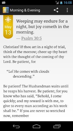 Morning Evening Devotional