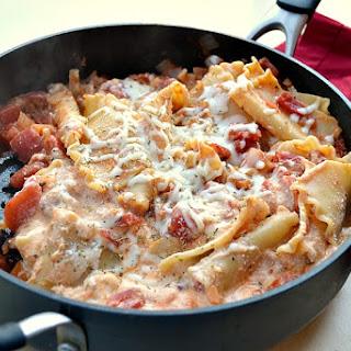 Easy Peasy Skillet Lasagna Recipe