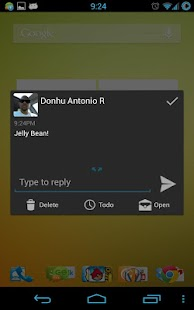 JellyBean Go SMS Theme - screenshot thumbnail