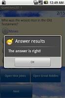 Screenshot of Bible Games(Free)