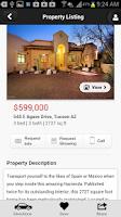 Screenshot of Long Realty AZ Home Search