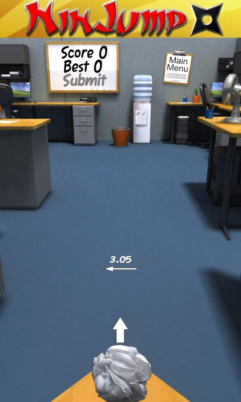 Paper Toss - screenshot