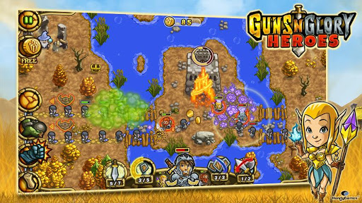 descargar Guns'n'Glory Heroes Premium android