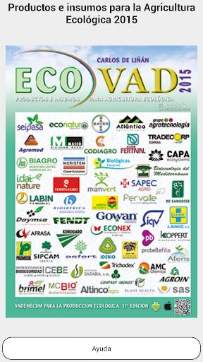 Productos Agro Ecológicos 2015