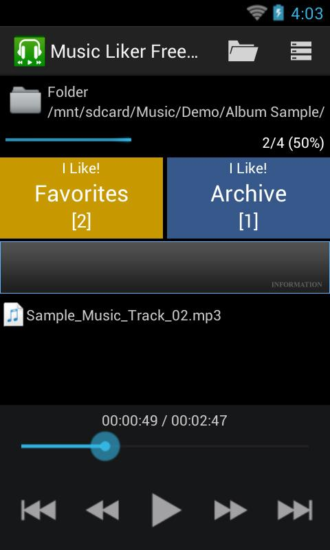 Music Liker Free- screenshot