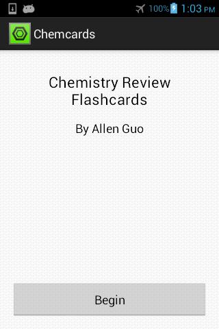 Chemcards