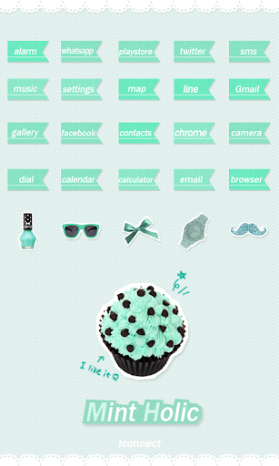 Mint Holic icon Theme