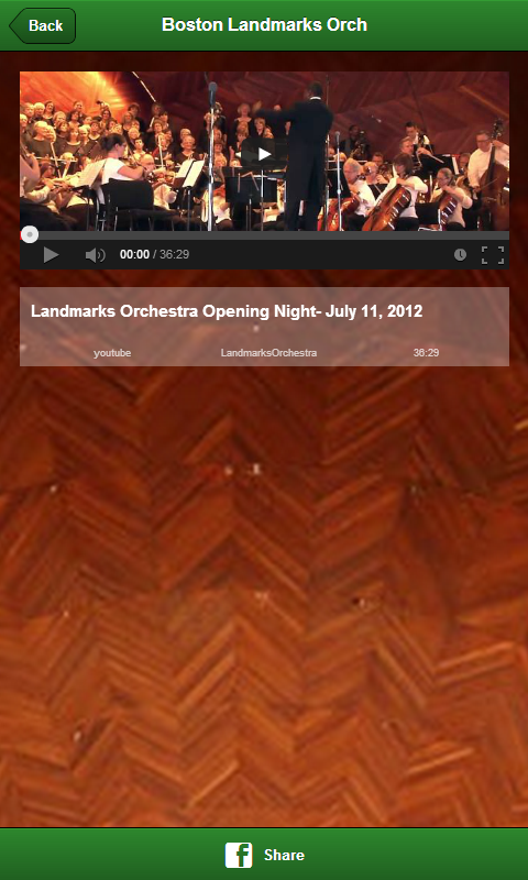 Boston Landmarks Orchestra - screenshot
