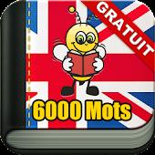 Apprendre l'Anglais 6 000 Mots