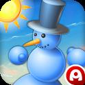 Snowman VS Sun icon