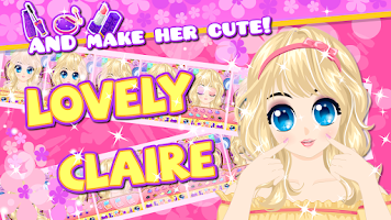 Screenshot of Claire Salon