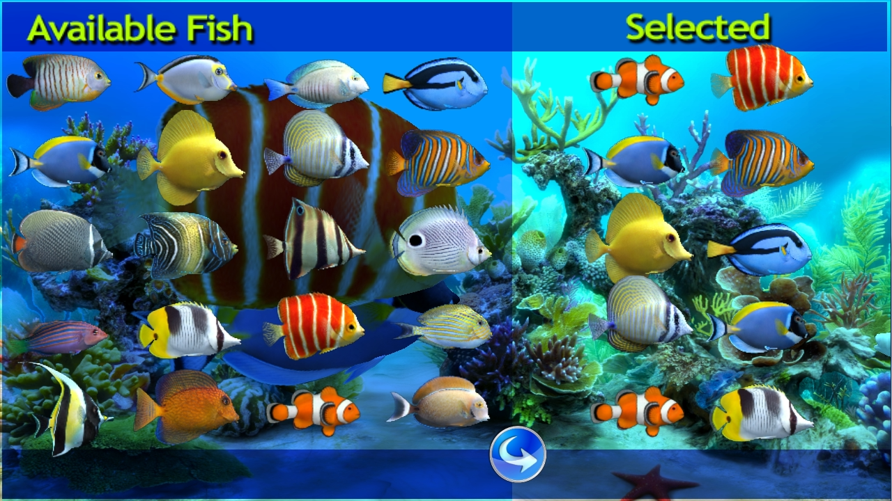 Sim Aquarium Live Wallpaper - screenshot