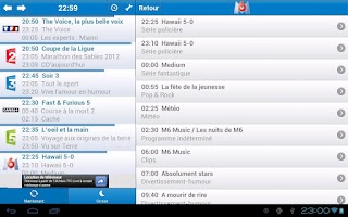 Screenshot of Guide TV *Ancienne version*