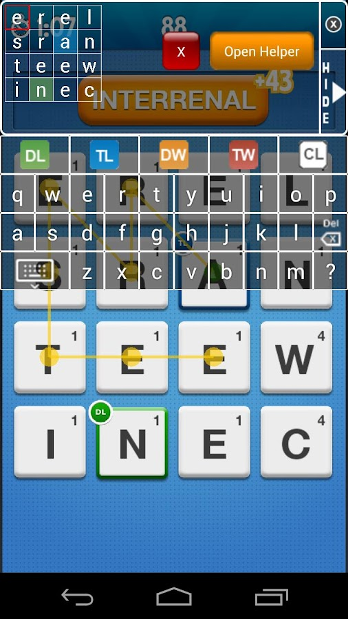 Word Streak Cheat for Friends- screenshot