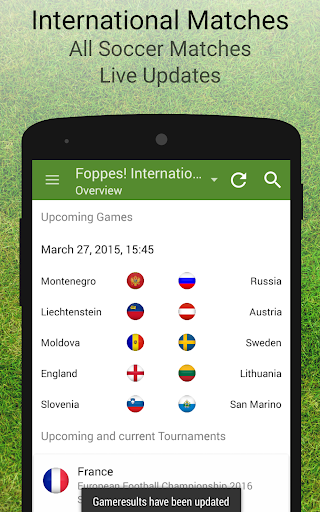 International Soccer Matches