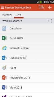 Microsoft Remote Desktop Beta Screenshot 5