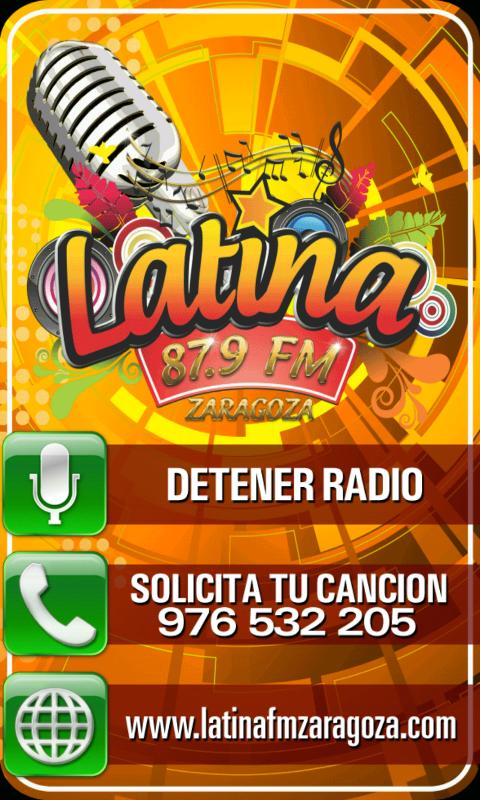 Latina FM - screenshot