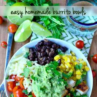 Easy Homemade Burrito Bowls