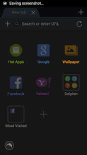 Night Mode For Dolphin Browser - screenshot thumbnail