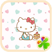 Hello Kitty Pastel Go Launcher