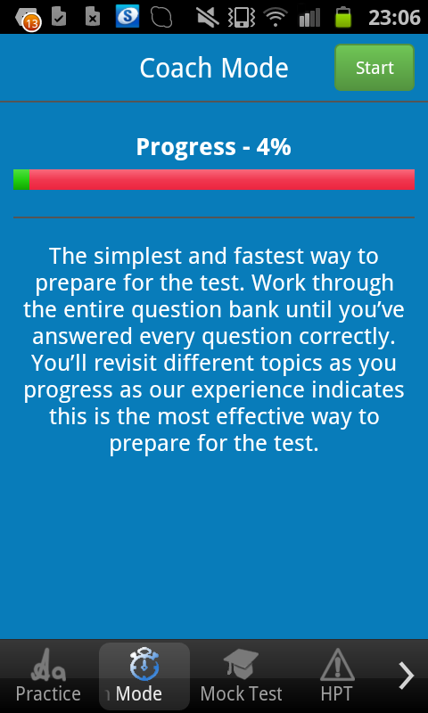 UK Motorcycle Theory Test- screenshot