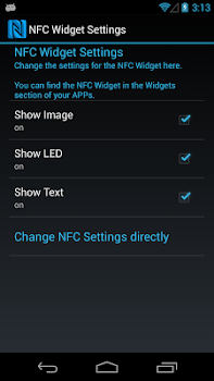 NFC Widget