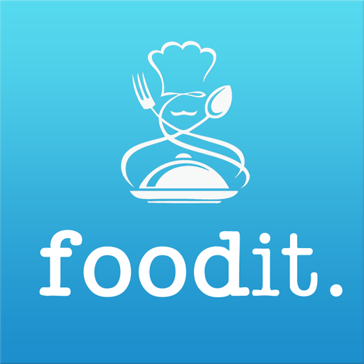 Foodit. LOGO-APP點子