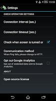 Screenshot of WiFi Reconnect
